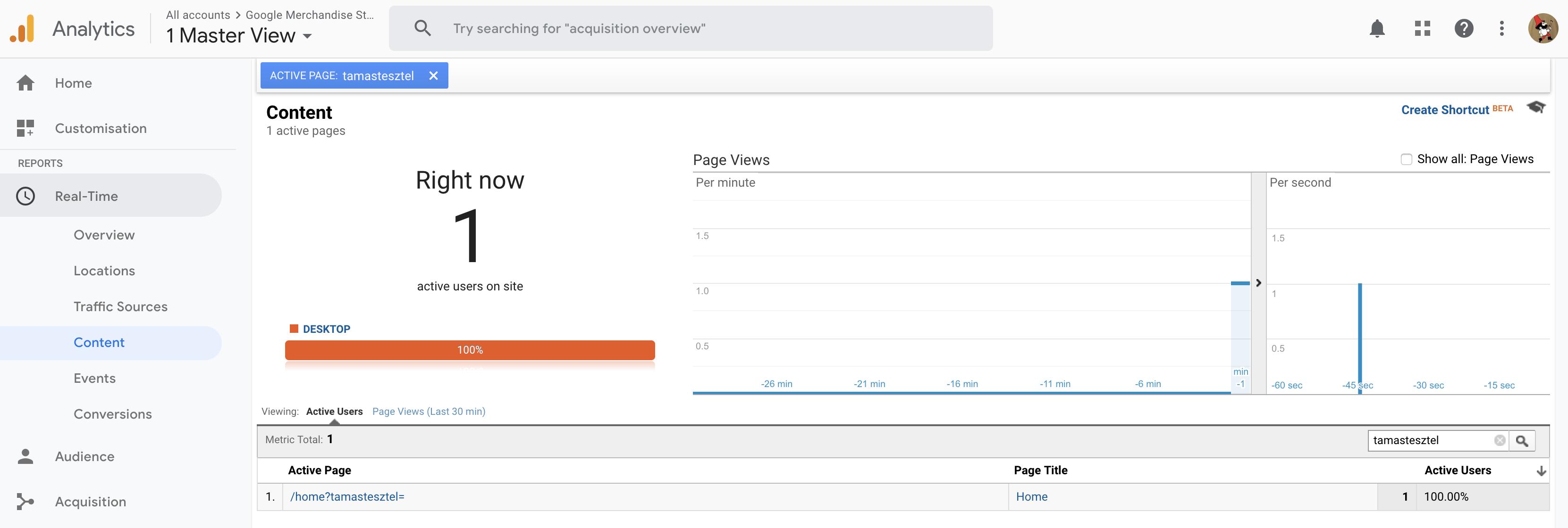 1 abra - real time-Google Analytics