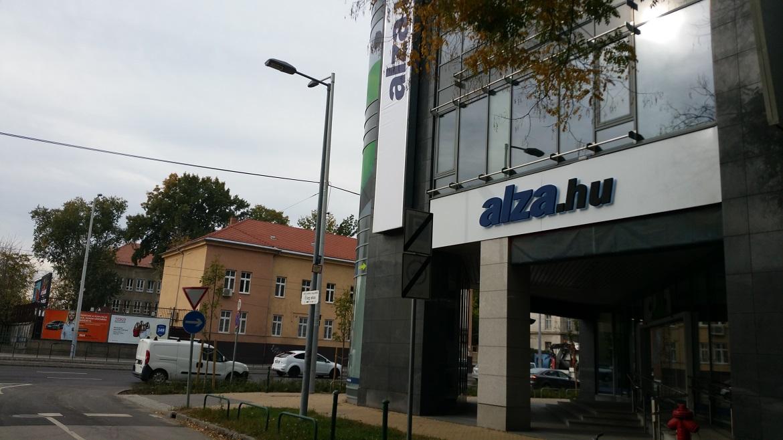 Az Alza.hu új bemutatóterme