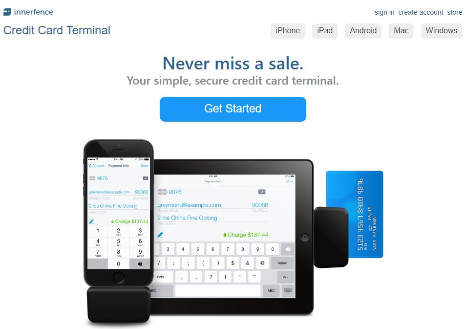 Kártyaelfogadás mobiltelefon kiegészítőkkel - Credit Card Terminal