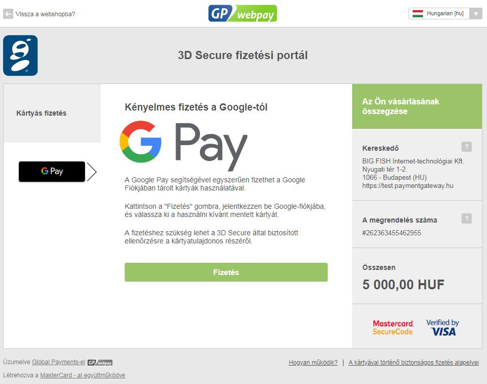 Már magyar e-kereskedők számára is elérhető a Google Pay