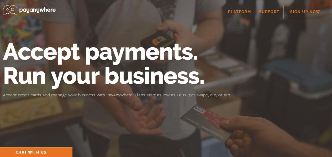 Kártyaelfogadás mobiltelefon kiegészítőkkel - PayAnywhere