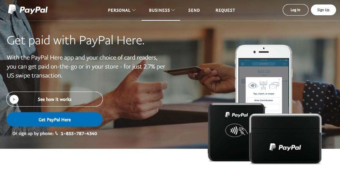 Kártyaelfogadás mobiltelefon kiegészítőkkel - PayPal Here