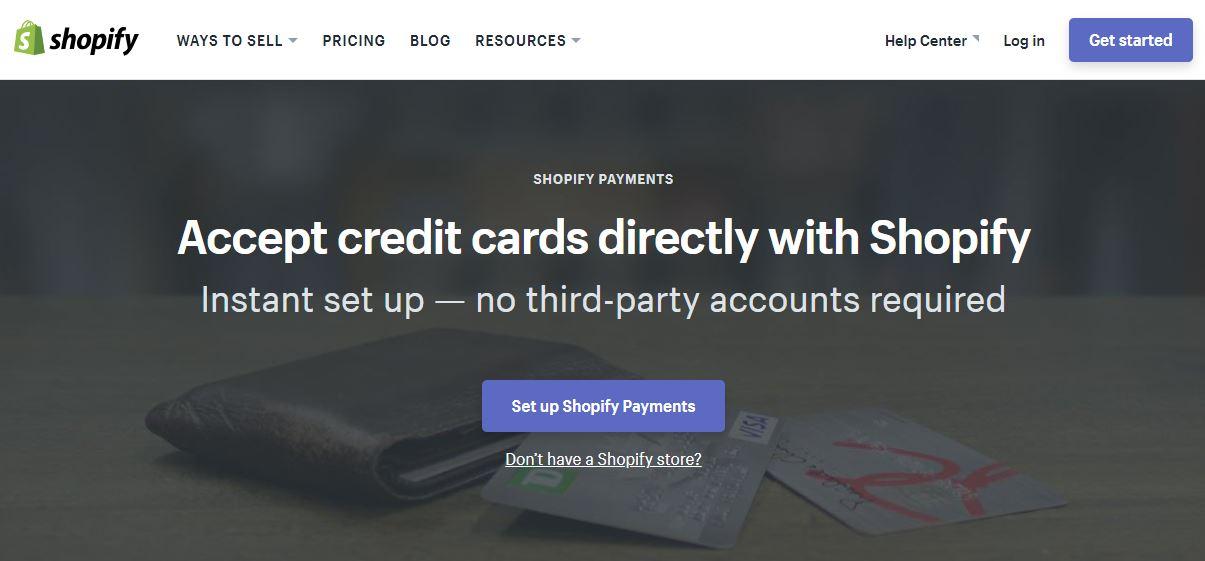 Kártyaelfogadás mobiltelefon kiegészítőkkel - Shopify