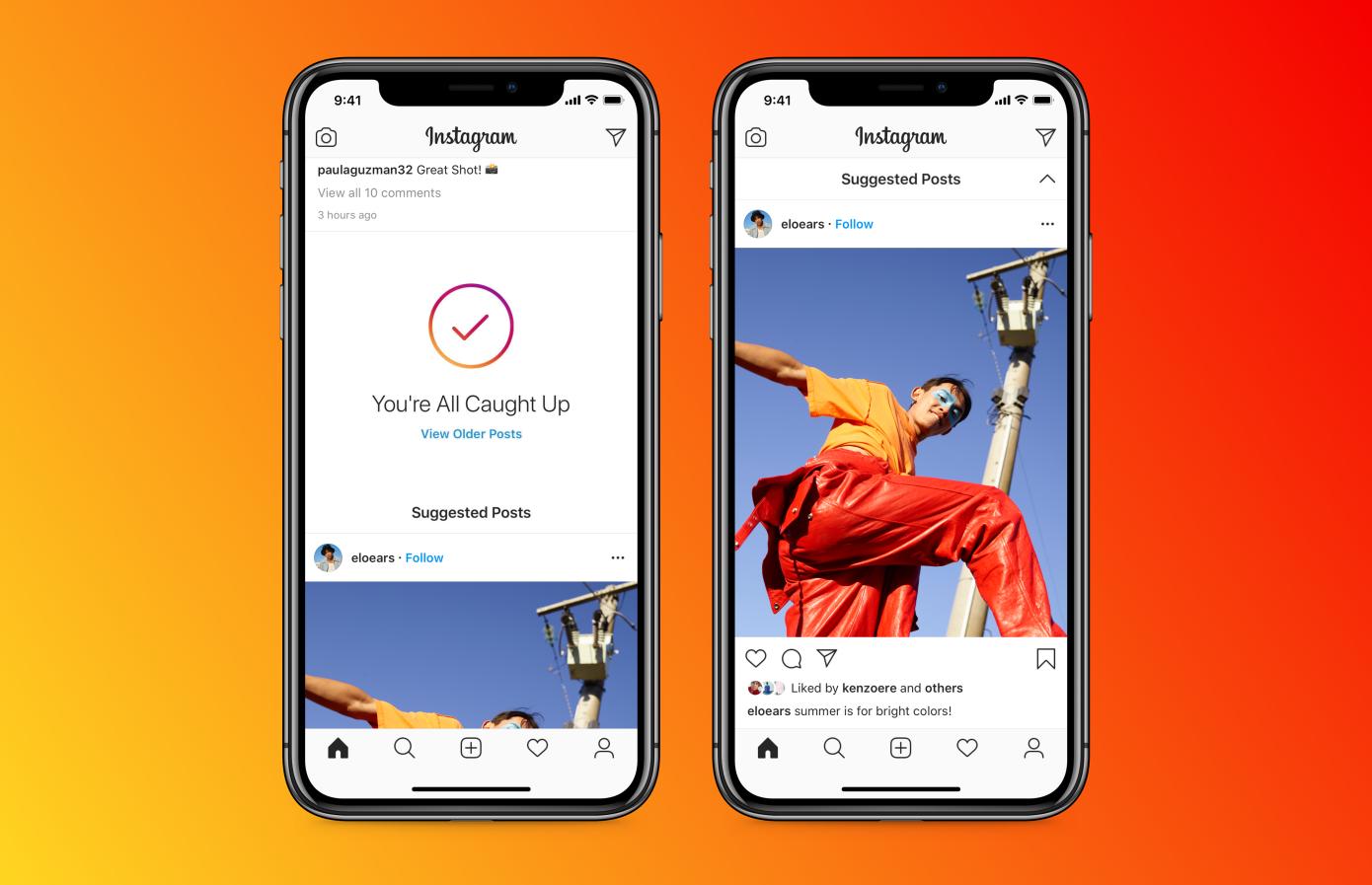 Instagram: posztajánlók és hirdetések jönnek a hírfolyam végére