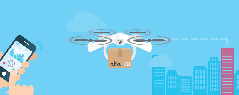 Drónos házhozszállításba kezdett az izlandi Aha