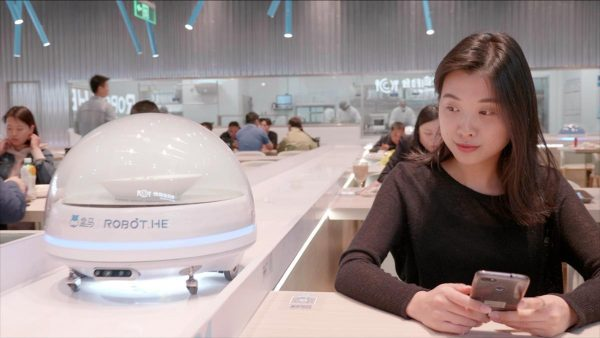 Alibaba robotétterem