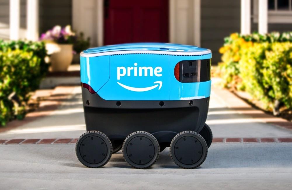 Az Amazon Európában folytatja az automatizált kiszállítás fejlesztését