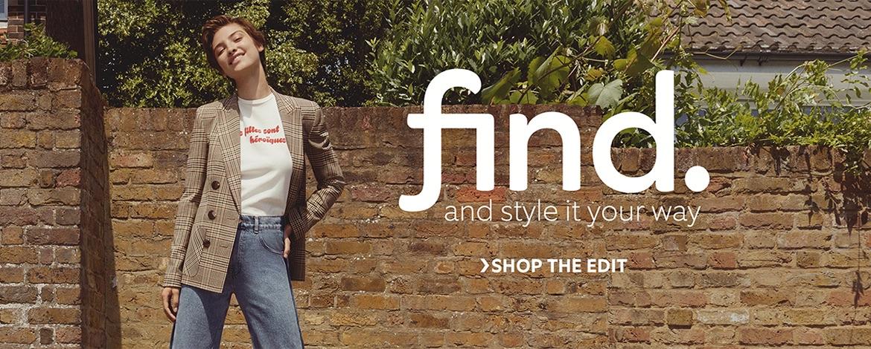 Egyelőre csak Európában lesz elérhető az Amazon divatmárkája, a Find