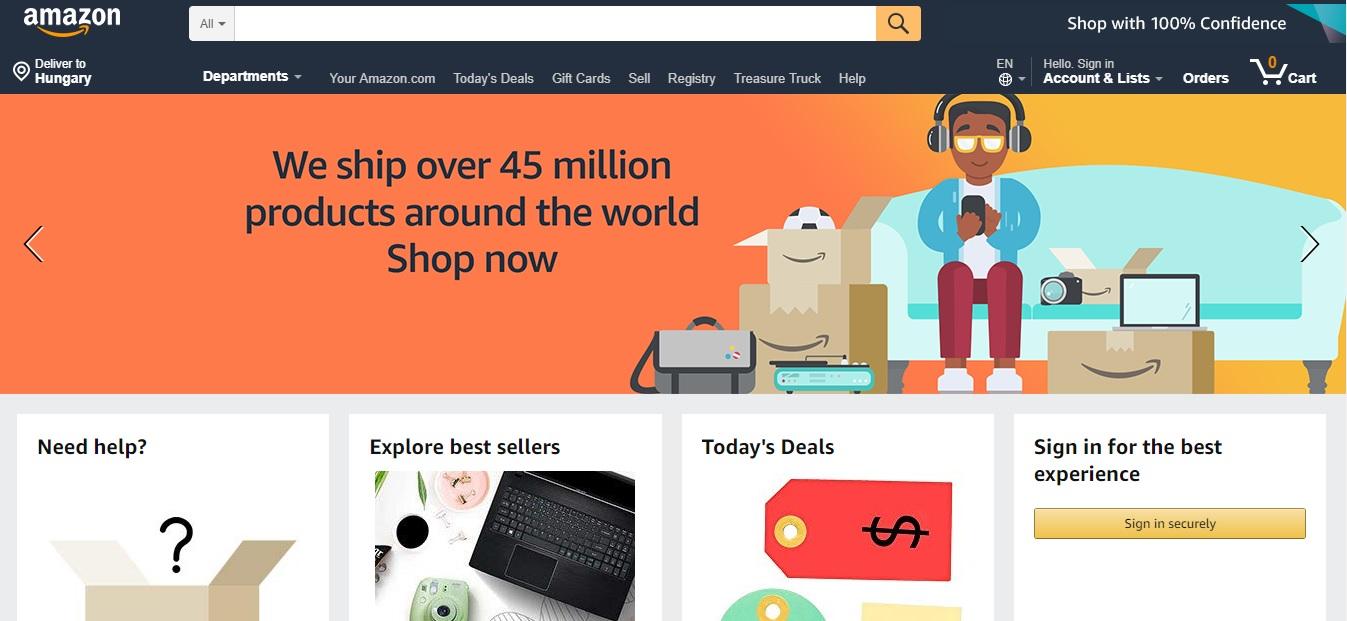 Az Amazonon túl – a vezető online piacterekről és e-kereskedelmi oldalakról