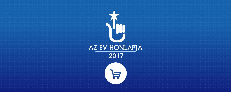 Az év e-kereskedelmi honlapjai