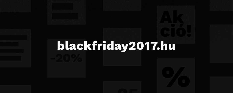 Tesztüzemben jól futott a blackfriday2017.hu
