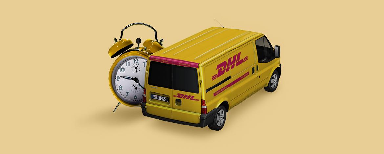 Előre egyeztetett időpontban szállít a DHL Parcel