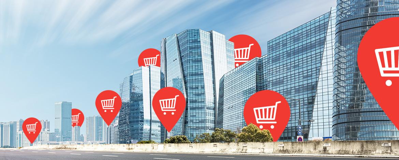 Dubaiban high-tech városrészt emelnek az online kereskedőnek