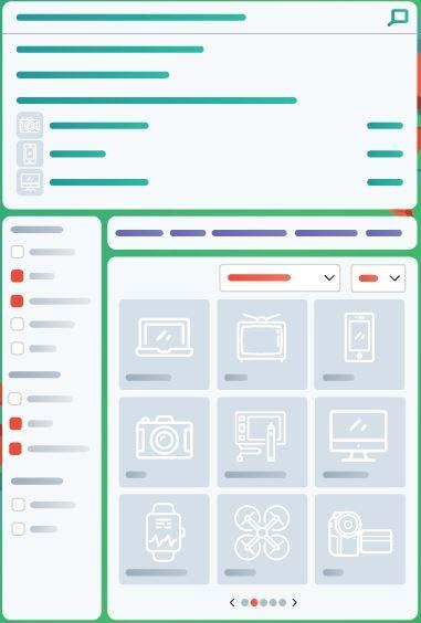 Webshop kereső