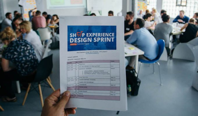 Extreme Digital Shop Experience Design Sprint