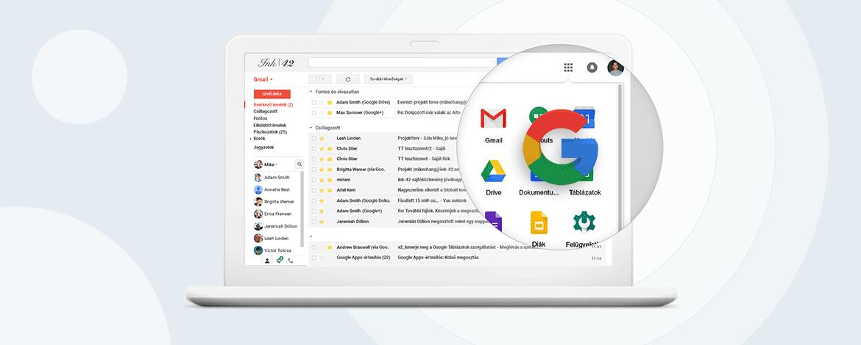 10 ok, amiért érdemes felhagyni a privát Gmaillel az üzleti levelezésben