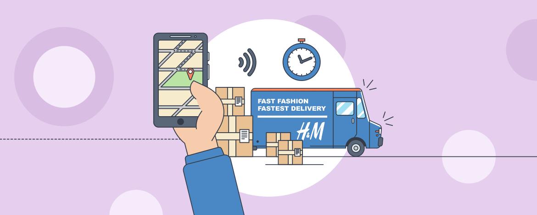 Aznapi szállítást tesztel a H&M: ha sikeres, egész Európában bevezethetik