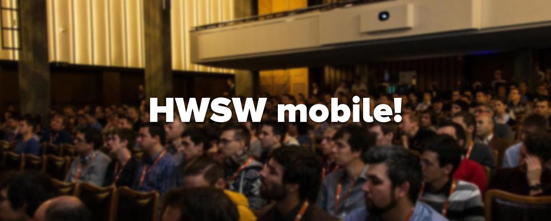 HWSW mobile! konferencia