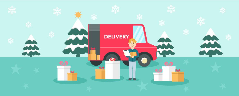 Így készülnek a karácsonyi rohamra a kiszállítók