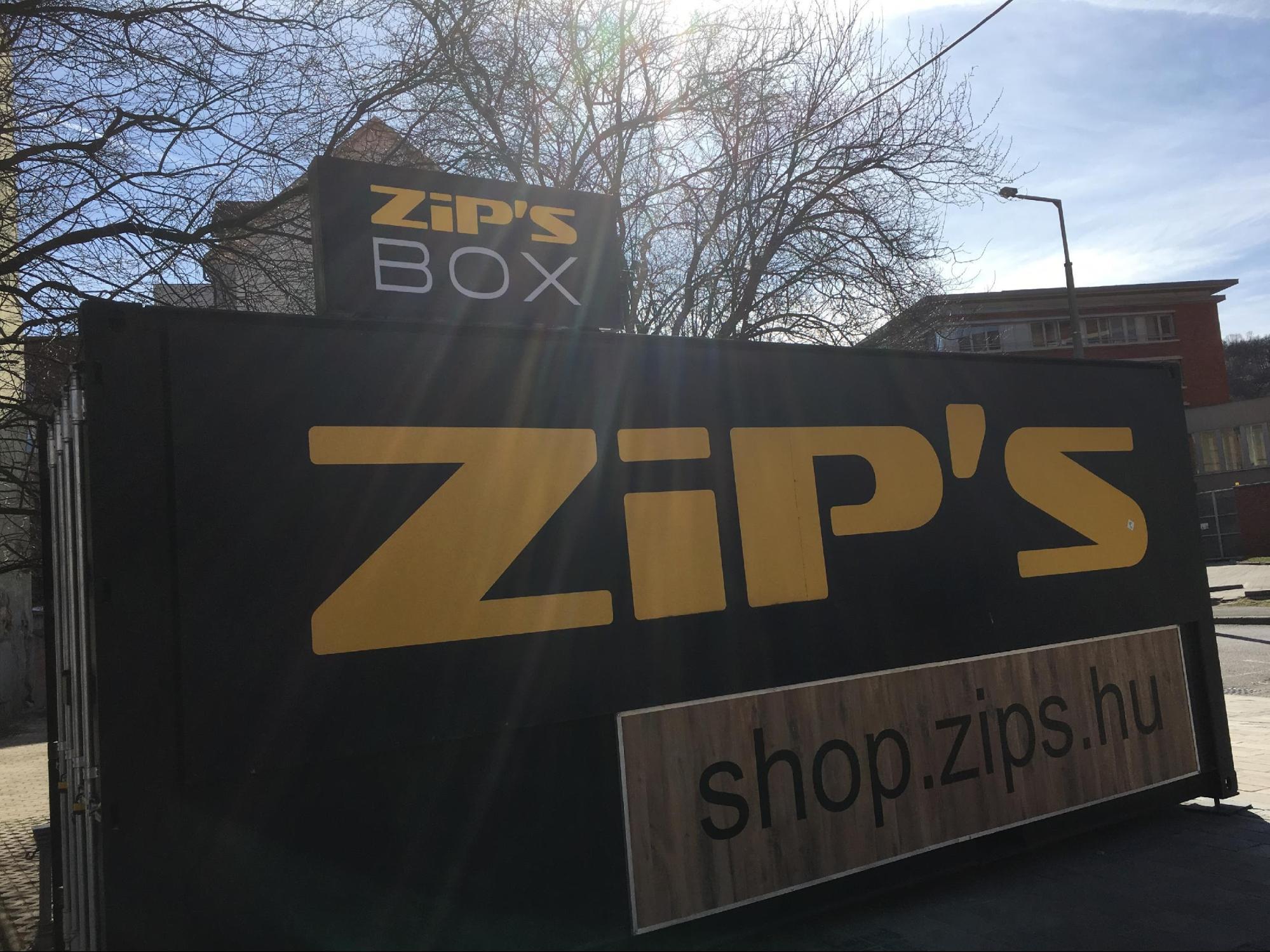 Zip's Box pop-up üzlet a miskolci Kocsonyafesztiválon