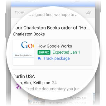 Kiszállítási adatok az Inboxban