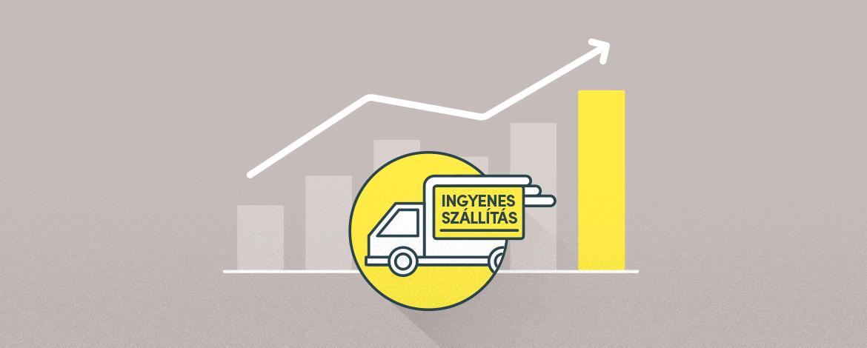 7 tipp, hogy a kereskedőnek is megérje az ingyenes szállítás