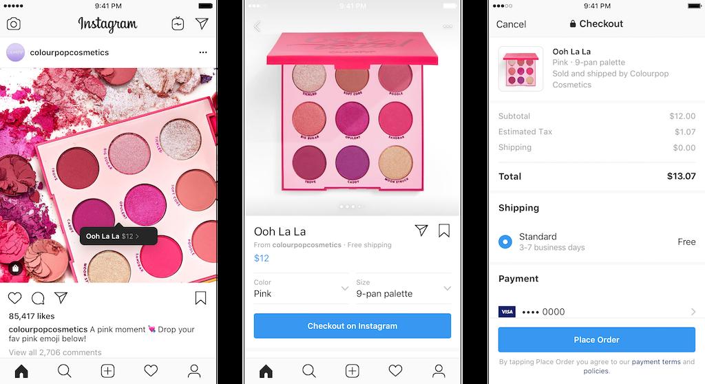 Elérhető a Shopify fizetési rendszere a Facebookon és az Instagramon