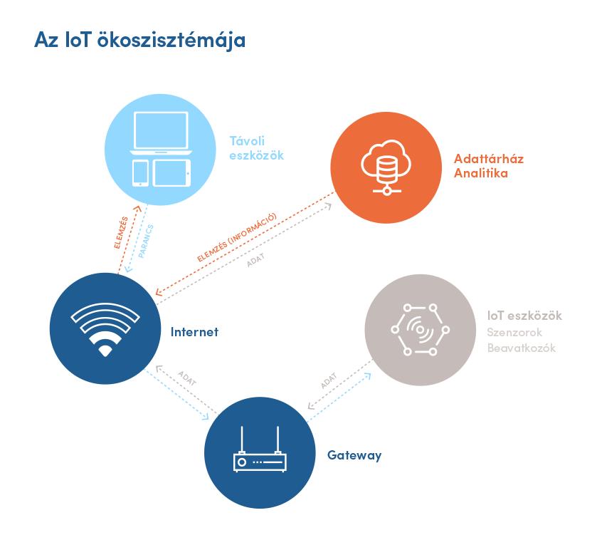 Az IoT ökoszisztémája