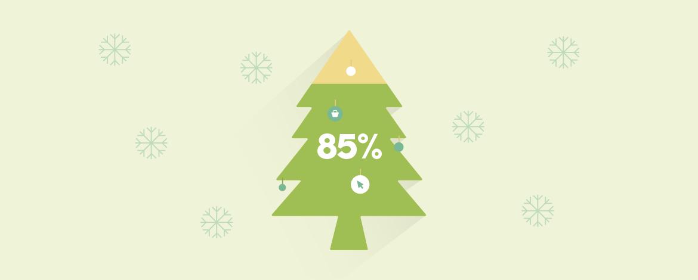A netezők 85%-a online vásárolna karácsonyra, átlag 35 ezer forintért