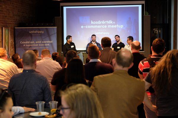 Kosárérték e-commerce meetup