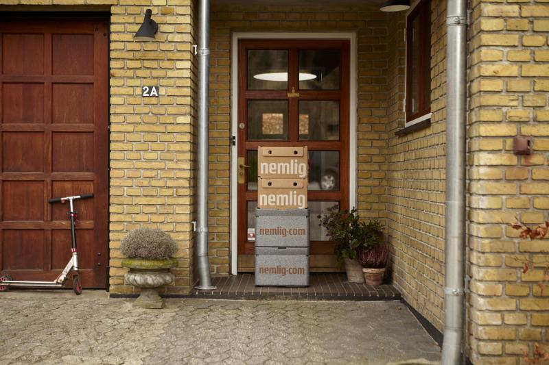A dán Nemlig különleges csomagolással oldja meg a frissáruk kiszállítását