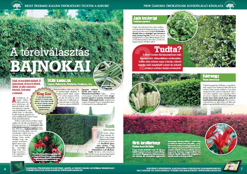 New Garden Magazin