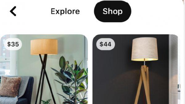 Közvetlen vásárlás a Pinterest kamerás keresőjéből