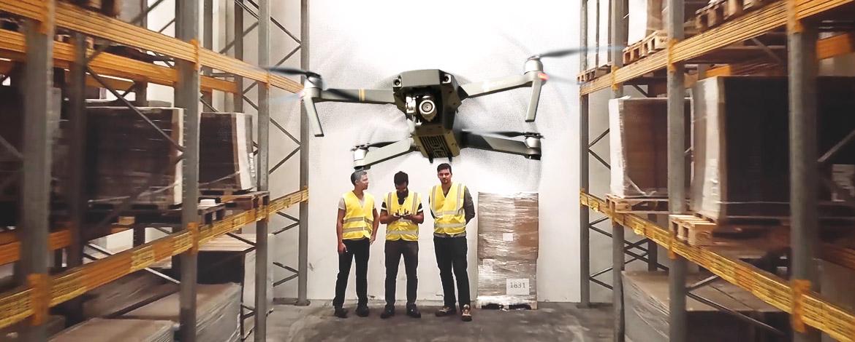 Drónokkal teszi pofonegyszerűvé a leltározást egy magyar startup