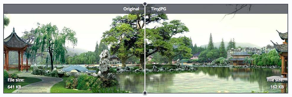 TinyJPG optimlizálás
