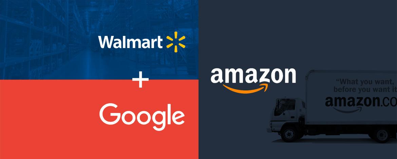 A Wal-Mart és a Google nekimegy az Amazonnak