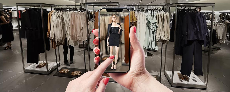 A Zara is AR-alkalmazással próbálja fokozni a vásárlói élményt